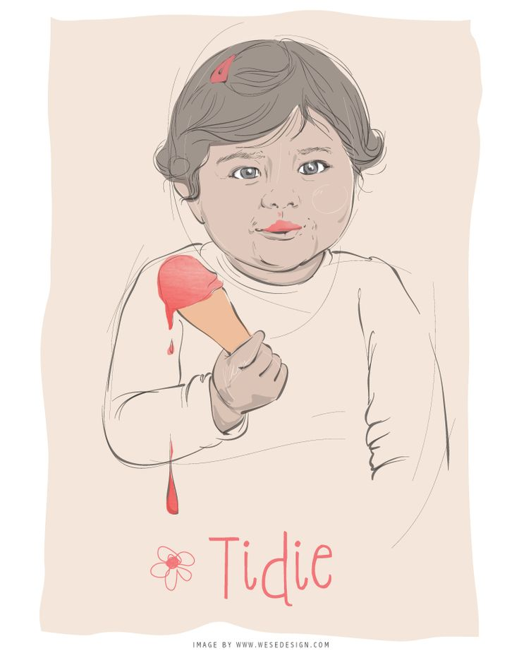 Illustration of a kid with an ice cream... Pin from wesedesign.com