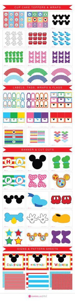 Ratón de Mickey Party club de Mickey mouse casa por GardellaGlobal