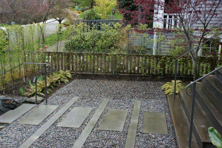 Moderno Entrata Cortile | Terreno | Sviluppo Seattle Scavare + Paesaggio