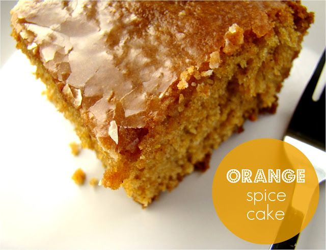 Family Feedbag: Orange spice cake