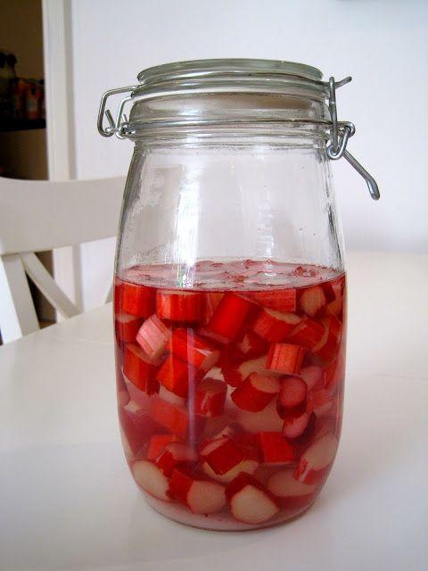 Rhubarb Gin