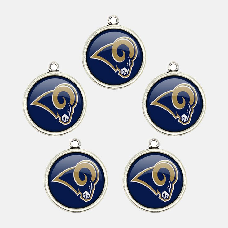 Mr.Eleven Los Angeles Football Team Logo Charms Jewelry Accessories Fan's Gift 2017 (FODZ-GY) by MrElevenHandcraft on Etsy