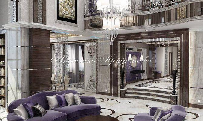 Дизайн интерьера коттеджа в стиле ар-деко