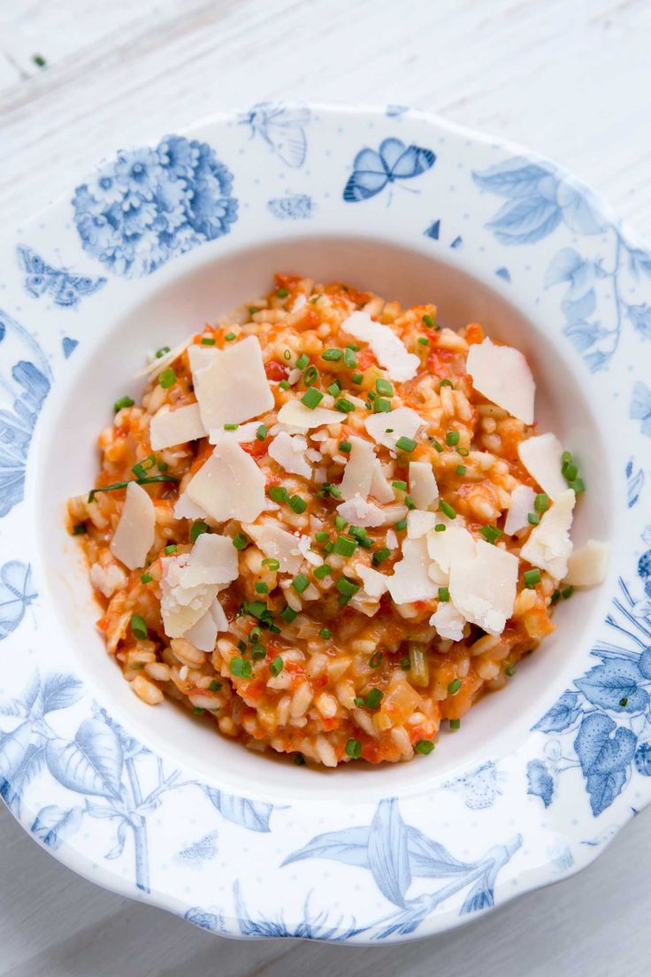 RED PEPPER AND TOMATO RISOTTO