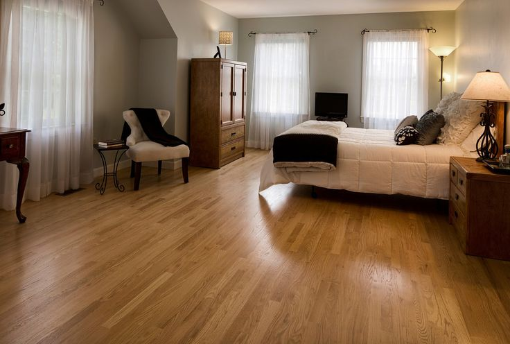 This Floor Is 2 1 4 X 3 4 Solid Natural Red Oak