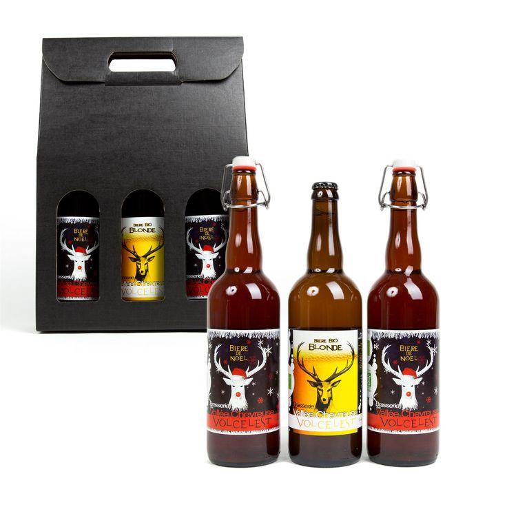 3 bières bio de Noël - Un savoureux cadeau - 19,95 €
