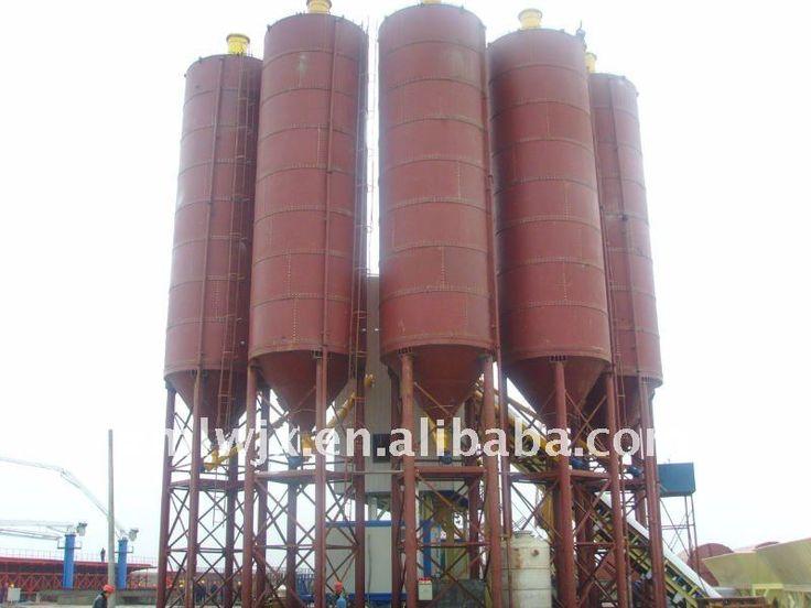 Elegant appearance silos for dry mortar machine