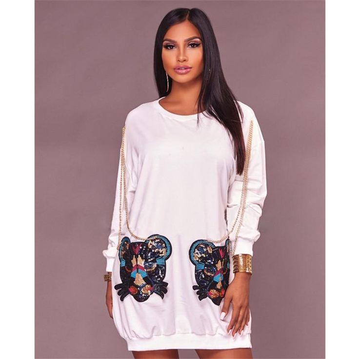 MYA OVERSIZED T-SHIRT DRESS