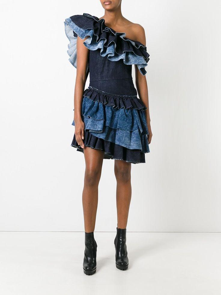 Diesel платье с рюшами