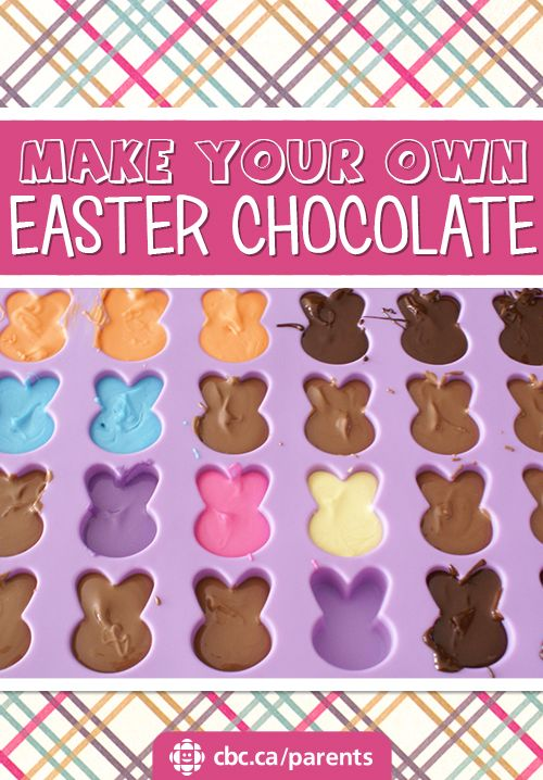 61 best easter ideas images on pinterest easter ideas parents make your own easter chocolate negle Gallery