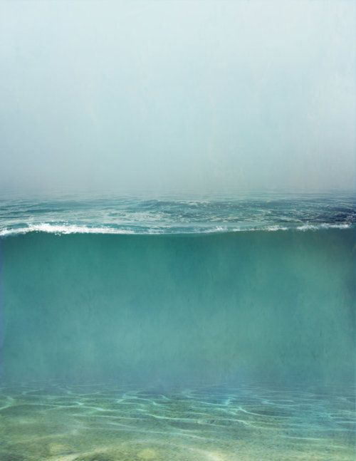 Sea: Color, The Ocean, Beautiful, Art, Underwater Painting, Sea, Beach, The Mer, Photography