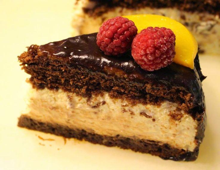 Ranteita myöjen taikinasa: Suklaa-persikkamousseleivokset kinuskiyllätyksellä
