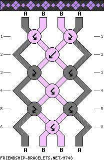 4 strings 6 rows 2 colors