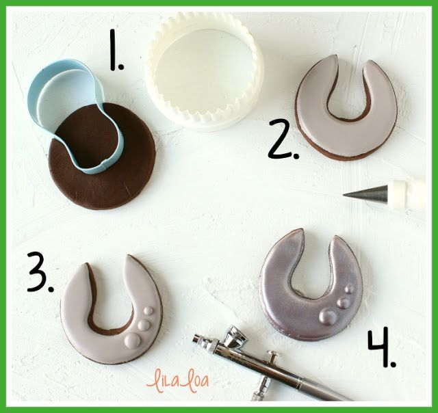 How To Make Decorated Horseshoe Sugar Cookies Sugar Cookies