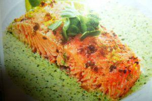 filetti di salmone al forno