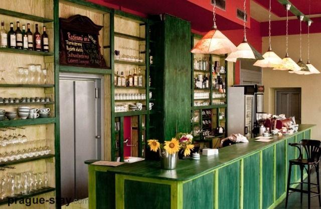 Kavárna mamacoffee ve Vodičkově ulici