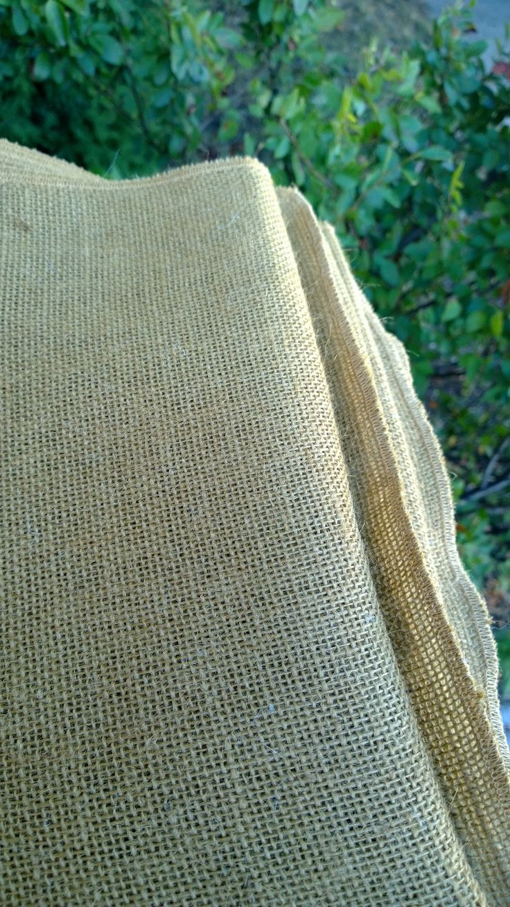 """30"""" x 156"""" Idaho Potato Colored Burlap Tablecloth is one of the most popular choices right now."""