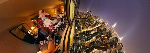 New York, Manhattan, Night - AirPano.com • 360 Degree Aerial Panorama • 3D Virtual Tours Around the World