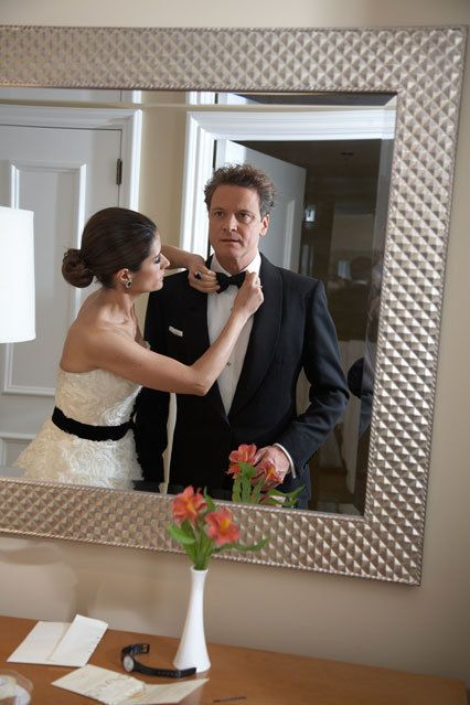 """to livia, who i hold responsible for, really, everything good that's happened since i met her."" --firth."