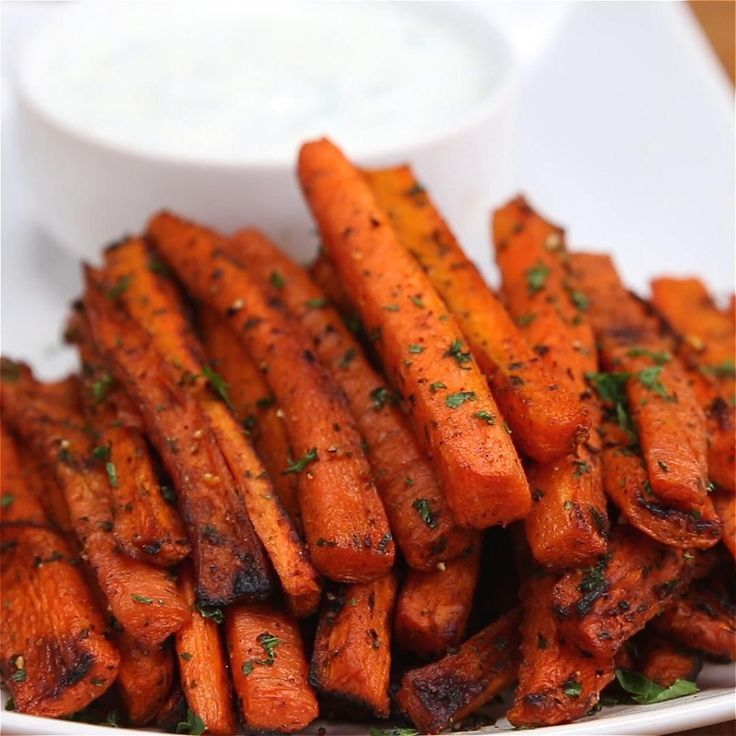 Carrot Fries Recipe by Tasty