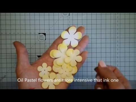Foamiran flowers tutorial / Kurs na kwiaty foamiran - YouTube