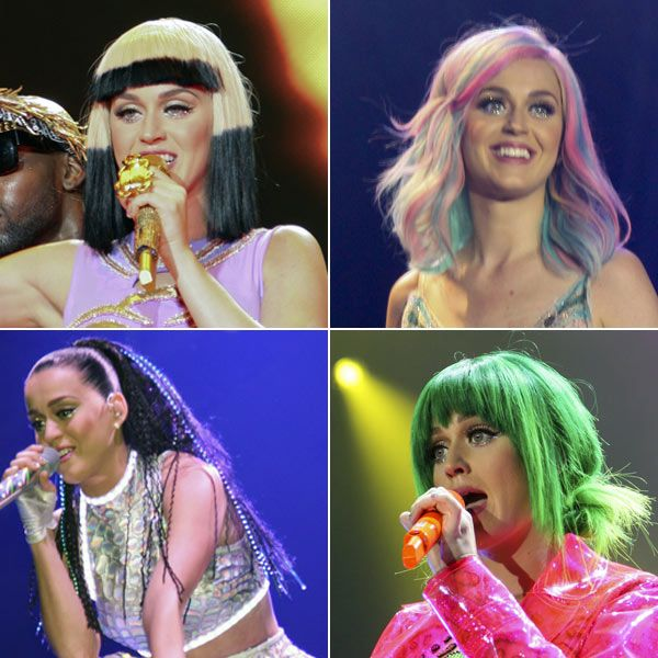 Katy Perry: Crazy Colorful Hair For Prismatic World�Tour