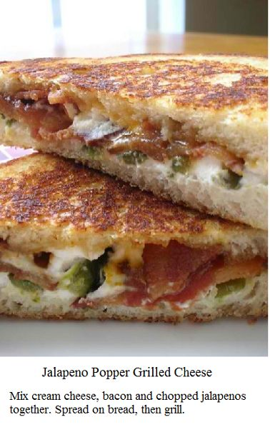grilled cheeses cooked bacon goat cheese cheese cream grilled cheese ...