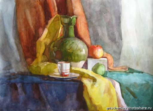 акварелью натюрморт - Поиск в Google