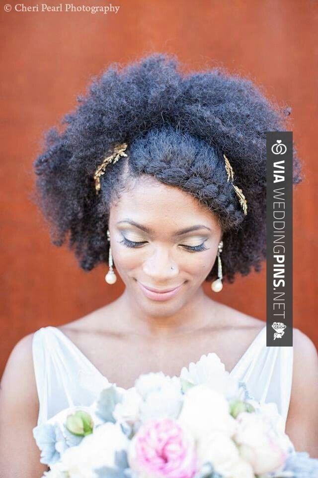 36 best Natural Wedding Hair images on Pinterest | Bridal ...