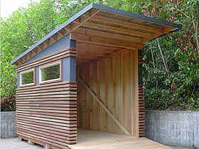 BikePortland.org » Blog Archive » Keep your bikes cozy in a (locally made) bike shed - Updated