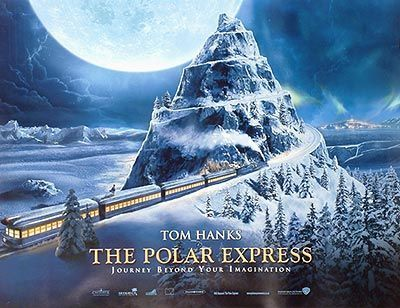 The Polar Express Movie Poster  The most gorgeous movie to watch during Christmas season!