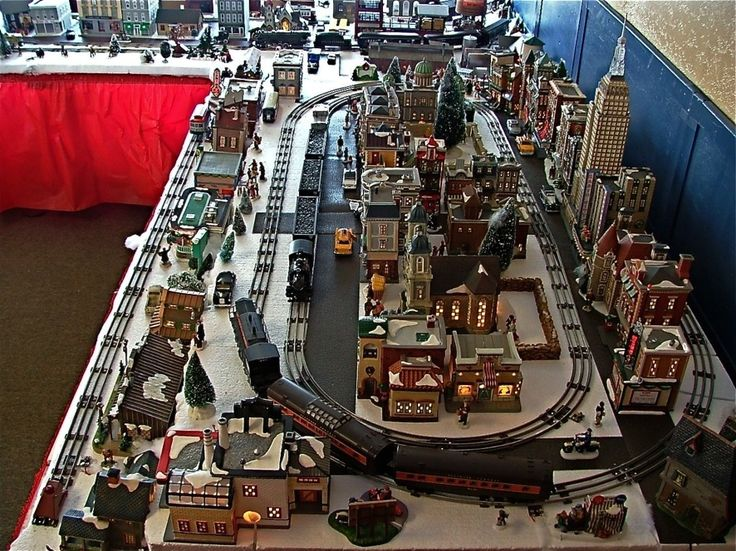 Electric Christmas Train Set