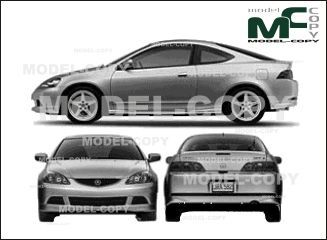 Acura RSX (2005)  - drawing