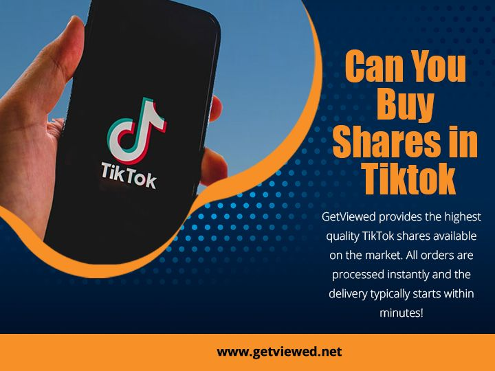 Can You Buy Shares In Tiktok Video Marketing Youtube Youtube Success Marketing Sites