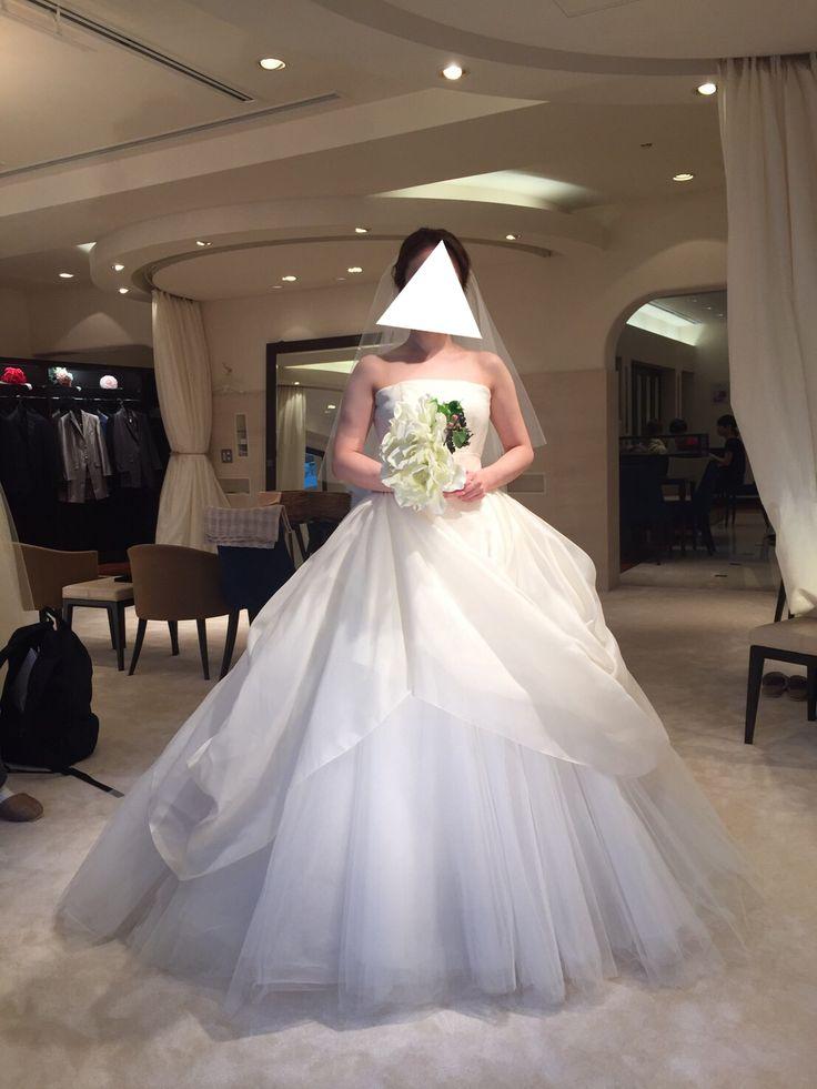 ウェディングドレス試着 アントニオリーヴァ ミーチェ