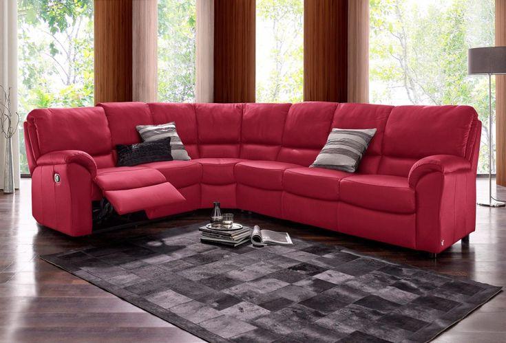 Die besten 25+ Rotes ledersofas Ideen auf Pinterest Rote - wohnzimmer ideen rote couch