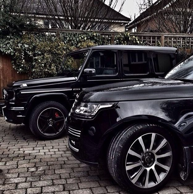 Dream cars (Range Rover x Mercedes G-Wagon