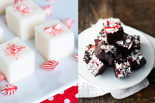 Candy cane martini jelly shots and candy cane truffles. I LOVE the ...
