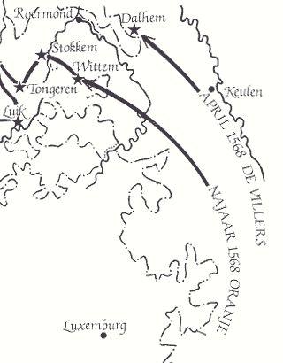 Eigen thema:1568 de 80 jarige oorlog breekt uit