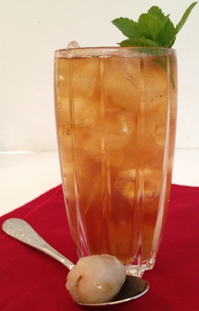 Chai Iced Tea with Fresh Lychees. | Recipes Made Easy | Pinterest