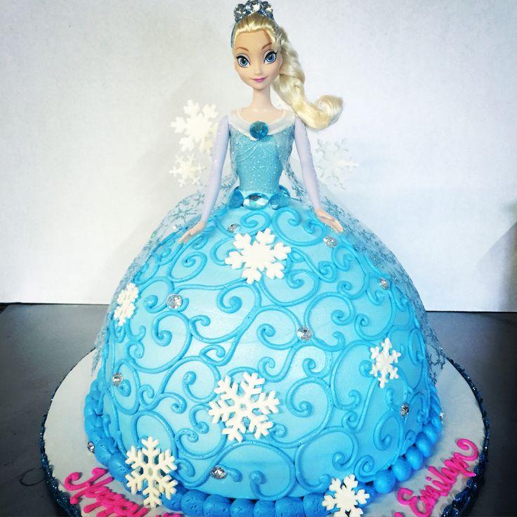 Queen Elsa Cake Design : Best 25+ Elsa doll cake ideas on Pinterest