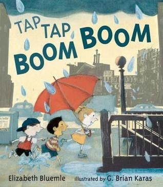 One of our featured story time books. Check it out next time you're at the library!: Boom Boom, Taps Taps, Cities, Illustration, Elizabeth Blueml, Pictures Books, Brian Kara, Taps Boom, Children Books