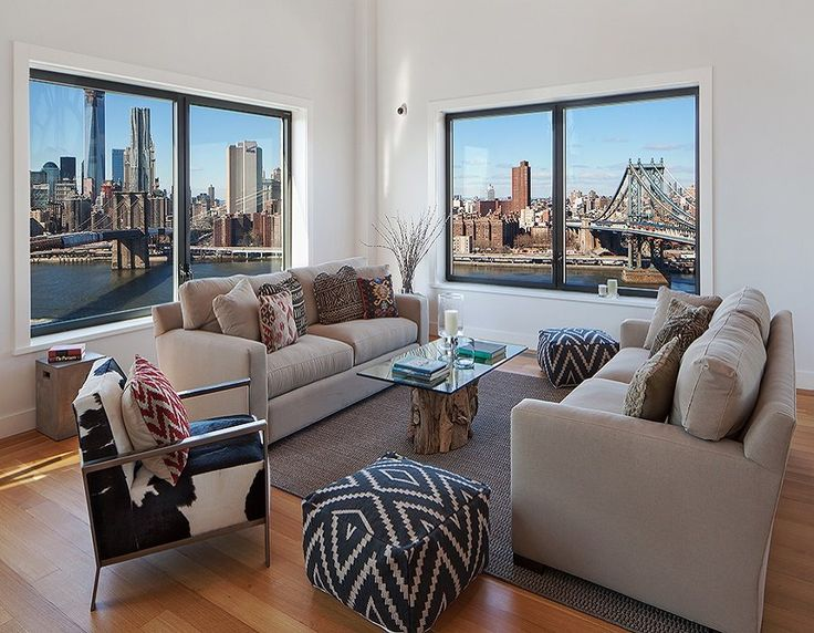 Brooklyn'de Modern Çatı Katı Daire