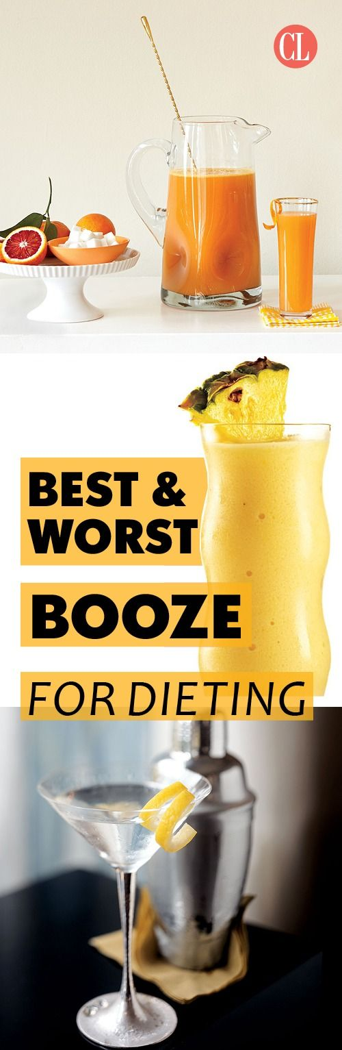 Can you enjoy a glass of wine and still lose weight? Sort of. While alcohol adds extra calories and isn't recommended for weight loss, an occasional drink can fit into your diet plan. Check out our best and worst drink choices when you're dieting. | Cooking Light