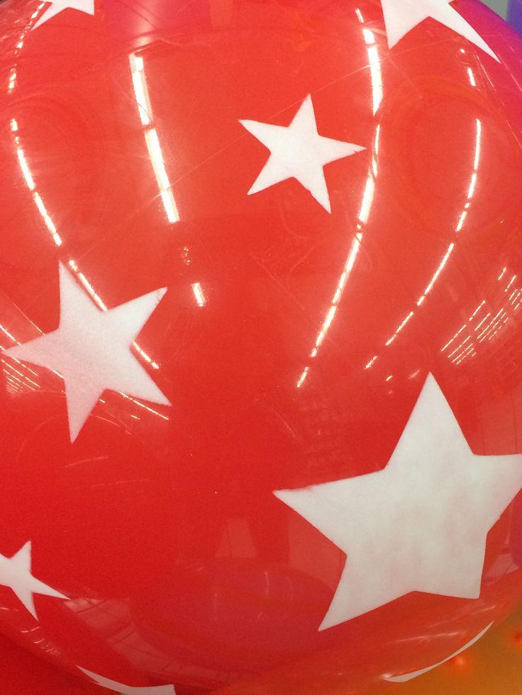 vector image design on giant bouncy ball Vector photo
