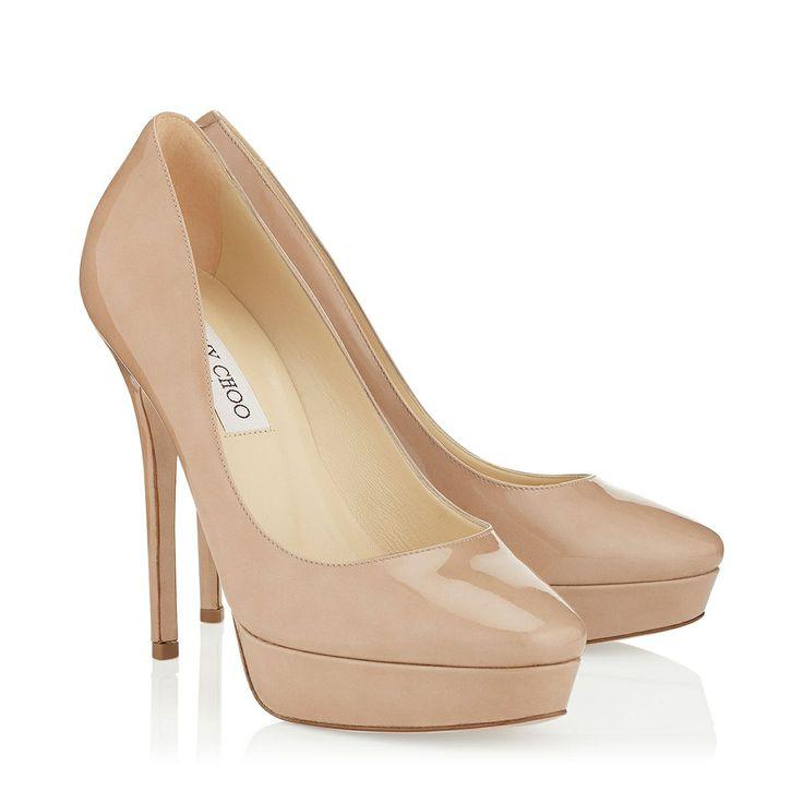 Closed Toe Nude Heels - Qu Heel