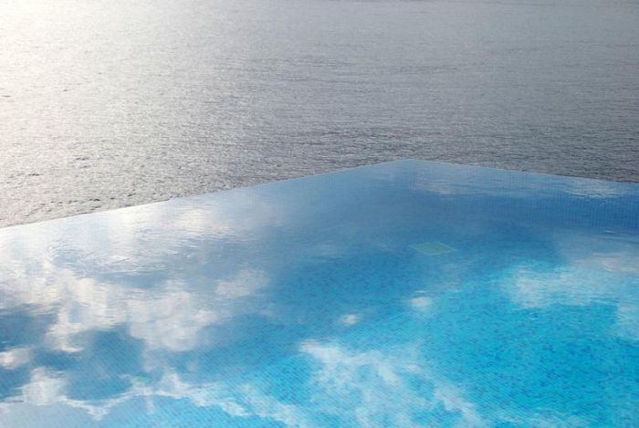 Infinity pool - Hotel Villa Mahal - Turkey