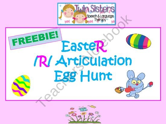 Best 14 Easter Speech images on Pinterest   Speech therapy, Therapy ...