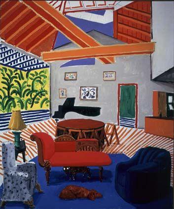 David Hockney- purchased in Switerland