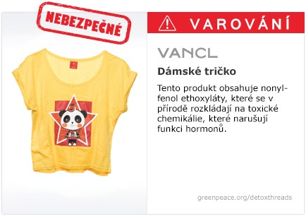 Vancl tričko   #Detox #Fashion